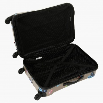 It Printed Trolley Bag - 19 inches
