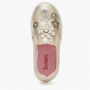 Juniors Embellished Loafers