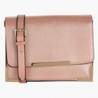 Elle Textured Crossbody Bag