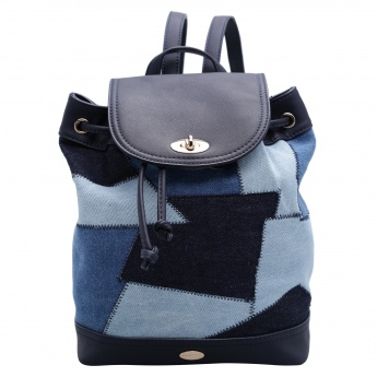 Missy Backpack with Drawstring Closure