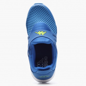 Kappa Logo Pattern Sports Sneakers