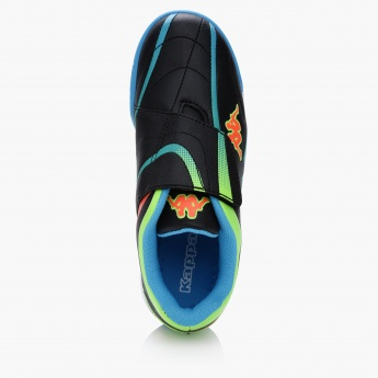 Kappa Printed Shoes with Hook and Loop Closure