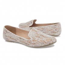 Missy Floral Lace Ballerinas