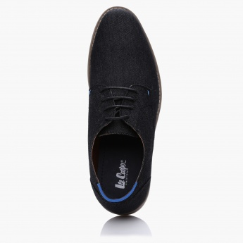 Lee Cooper Textured Lace-Up Shoes