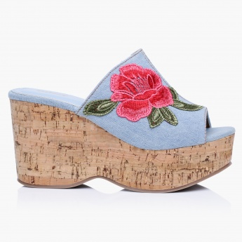 Missy Embroidery Wedges