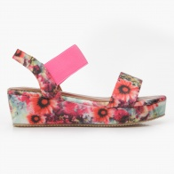 Little Missy Floral Print Sandals
