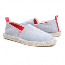Lee Cooper Slip-on Espadrilles with Felt Detail