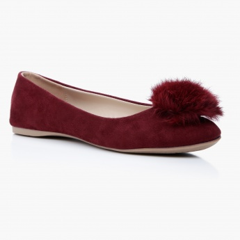 Paprika Slip-On Ballerina Shoes