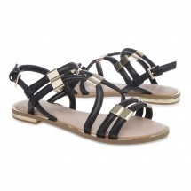 Jane Shilton Multi-strap Flat Sandals