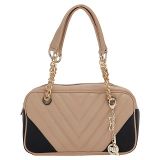 Elle Dual-Tone Shoulder Bag